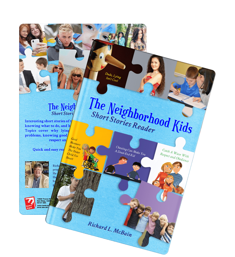 The Neighborhood Kids Short Stories Reader by Richard L. McBain