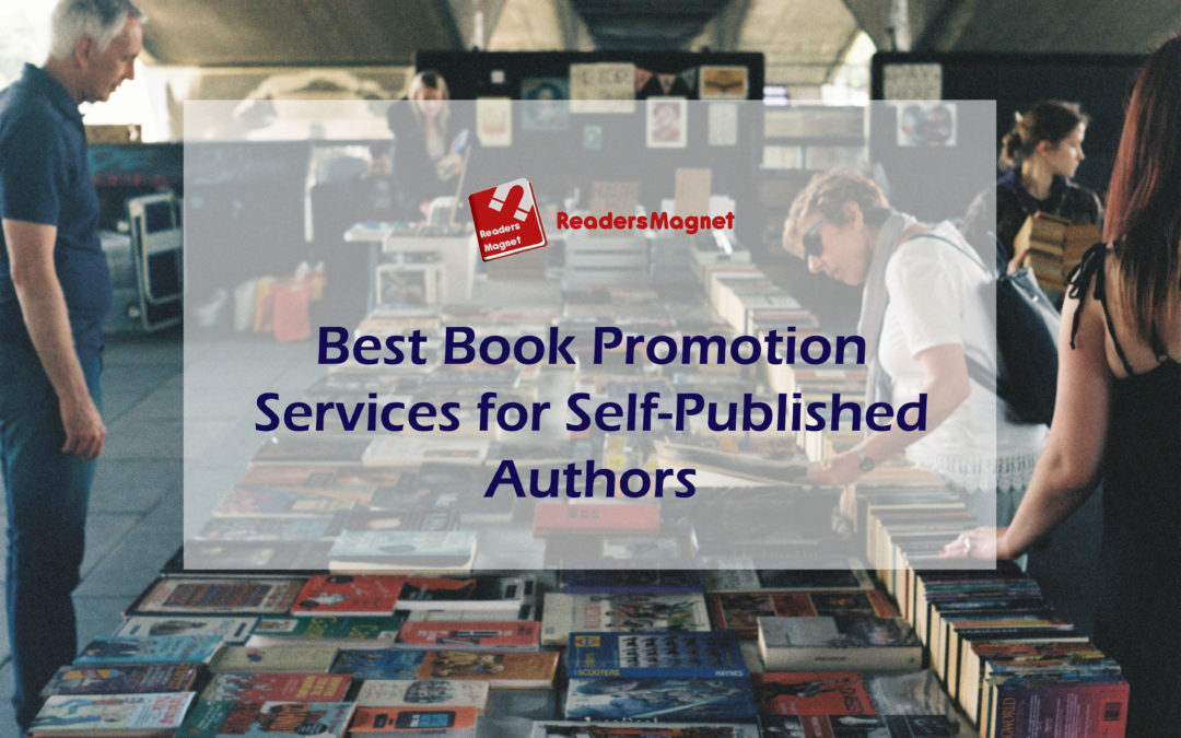 Best Book Promotion Services for Self-Published Authors