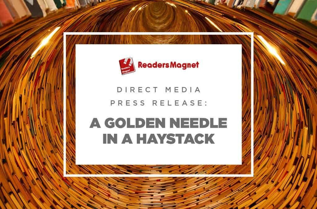 Direct Media Press Release: A Golden Needle in a Haystack