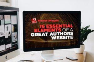 author website, dynamic website