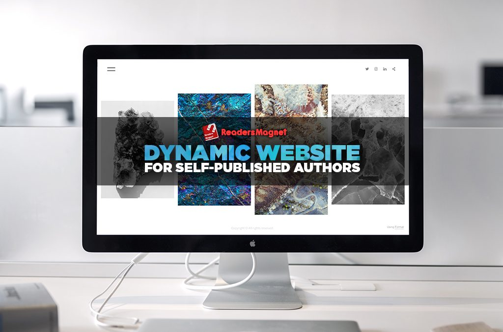 Author Website: Dynamic Website for Self-Published Authors
