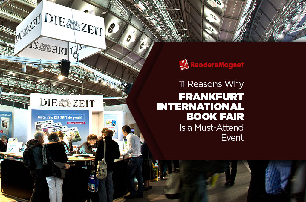 11 Reasons Why Frankfurt International Book Fair is a Must-Attend Event