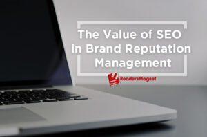 ReadersMagnet Self-Publishing Company, Brand Reputation Management