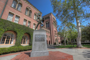 The University of Southern California is home to LA Times Festival of Books since 2011.