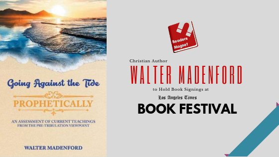 Walter Madenford at LA Times book Festival