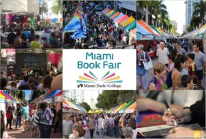 International book fairs such as the Miami Book Fair open exciting possibilities to many authors.