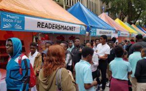 ReadersMagnet attending the 35th Miami Book Fair International, 2018