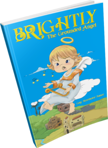 Brightly the Grounded Angel by Gay Sizemore Sauer