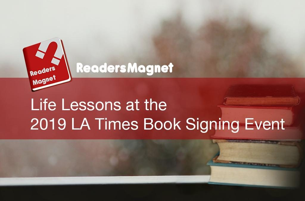 Life Lesson 2019 LA Times BookSigning