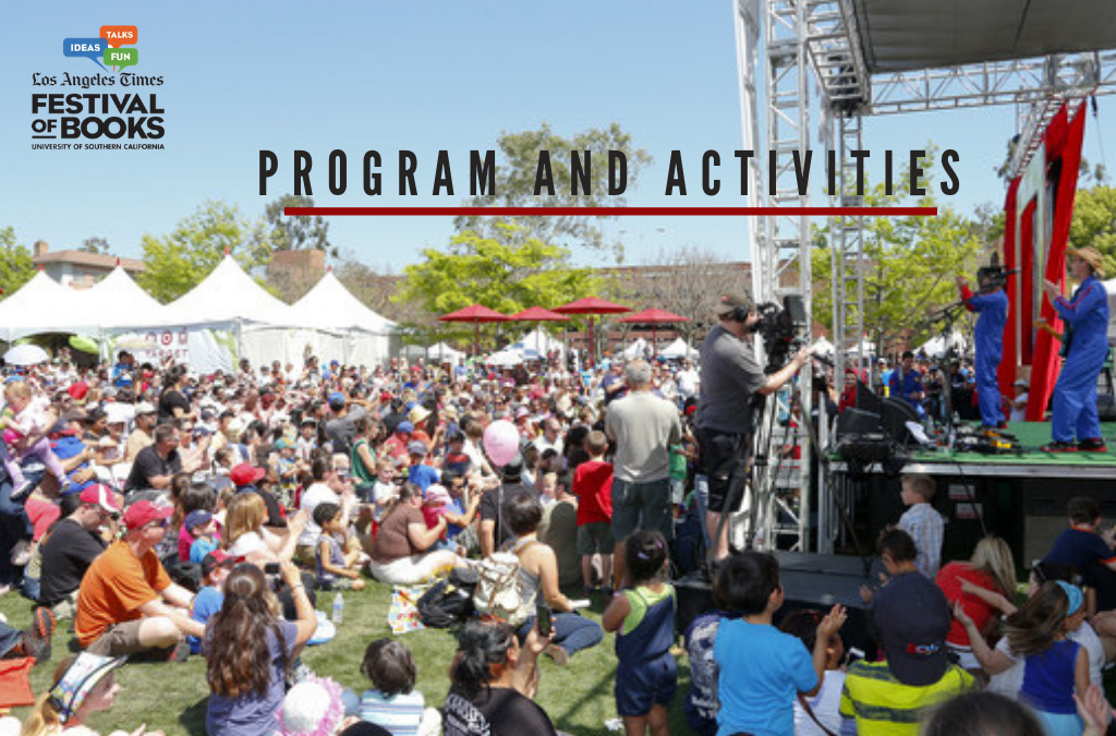 2019 LA Times Festival of Books: Programs and Activities