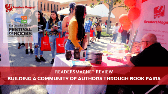 ReadersMagnet Review - Building a Community of Authors through Book Fairs