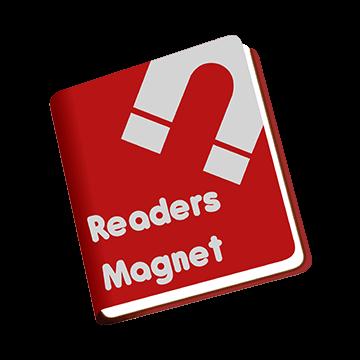 ReadersMagnet's official logo.