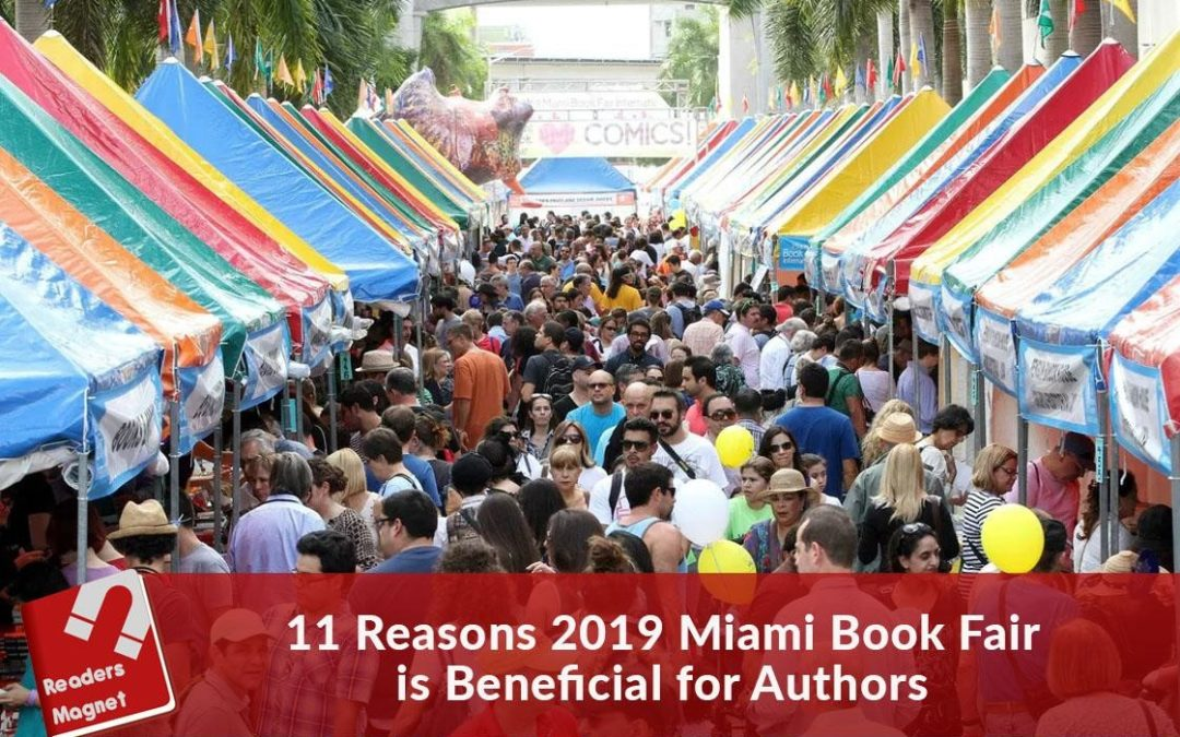 11 Reasons 2019 Miami Book Fair is Beneficial for Authors