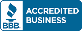 BBB accredited business button