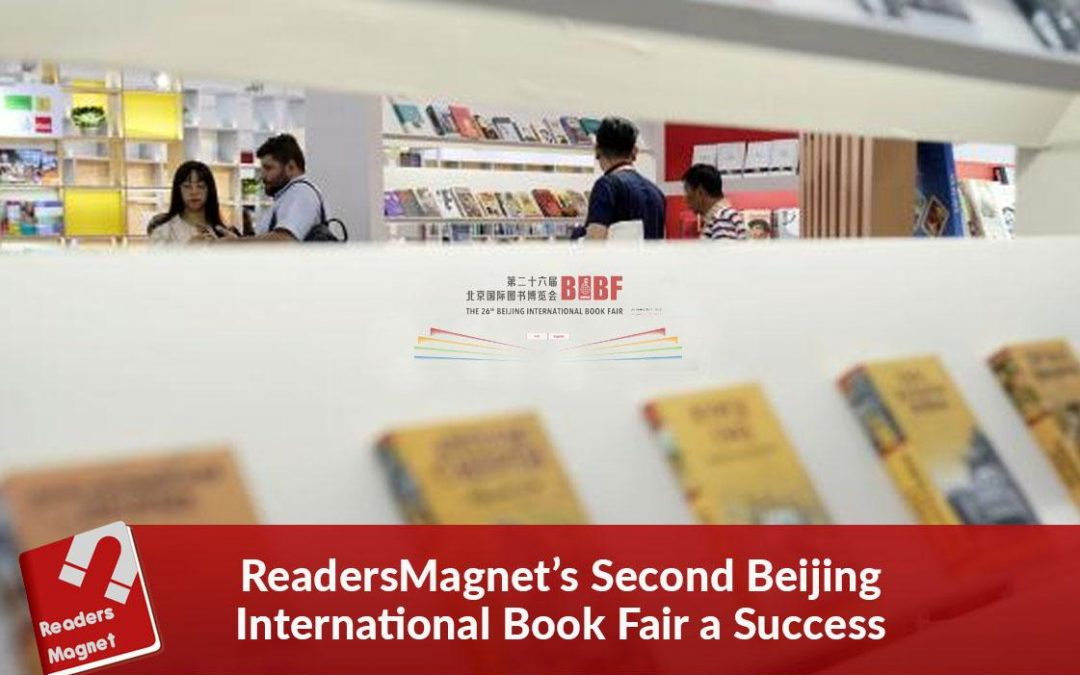 ReadersMagnet's Second Beijing International Book Fair a Success