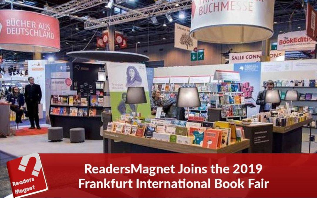 ReadersMagnet Joins the 2019 Frankfurt International Book Fair