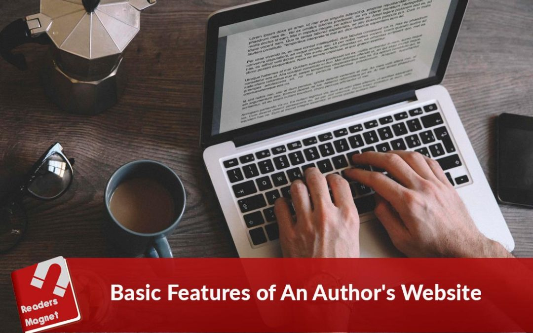 Basic Feature of An Author's Website