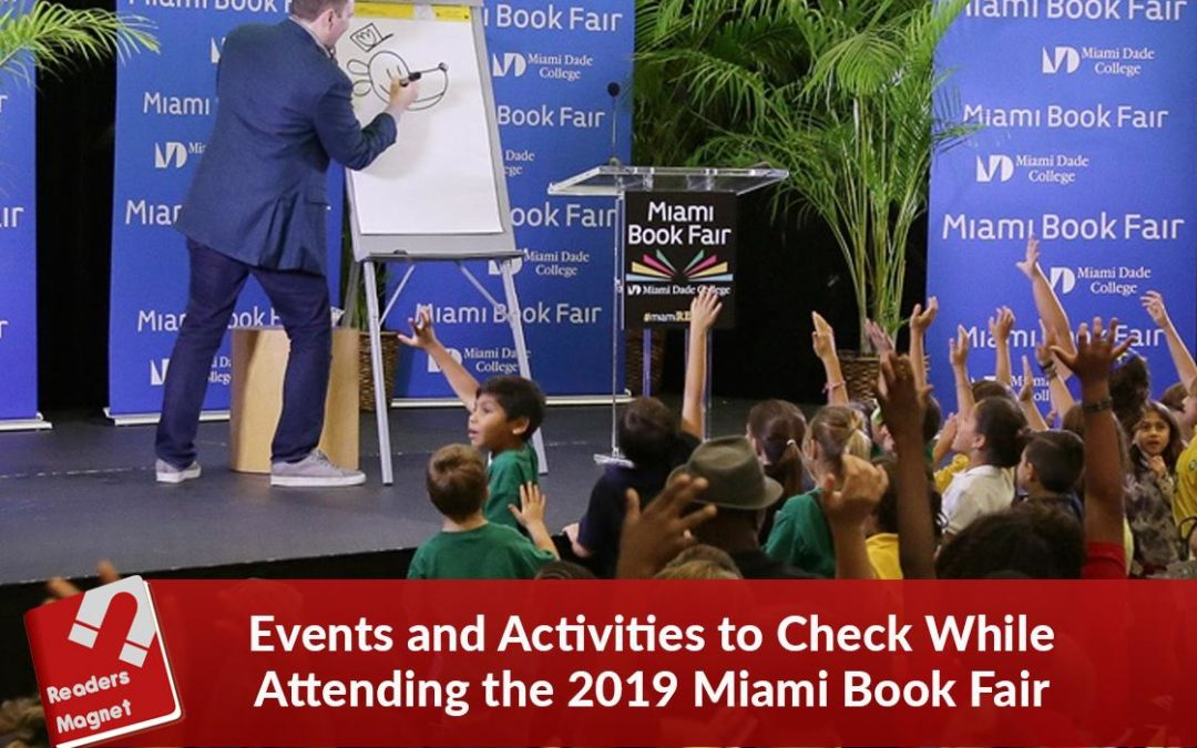 Events and Activities to Check While Attending the 2019 Miami Book Fair