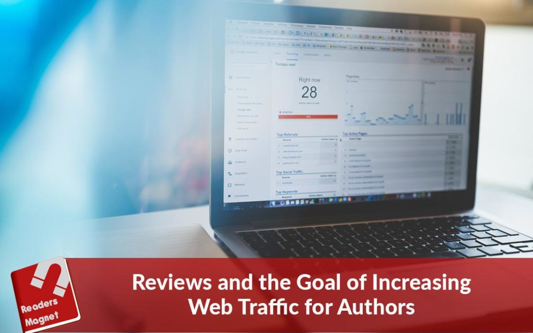 Reviews and the Goal of Increasing Web Traffic for Authors