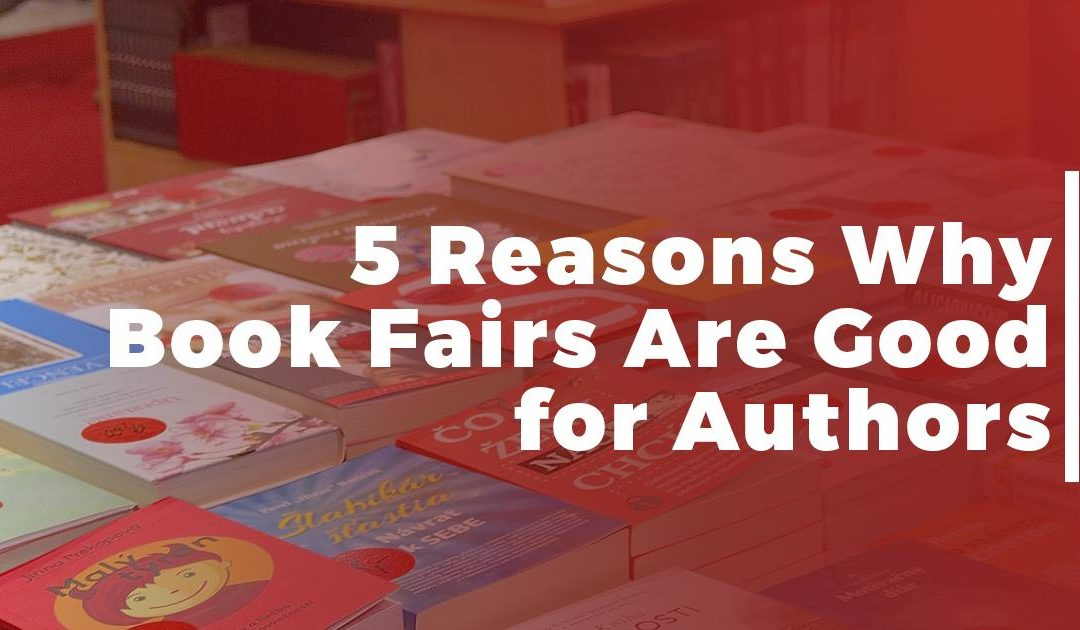 5 Reasons Why Book Fairs Are Good For Authors banner