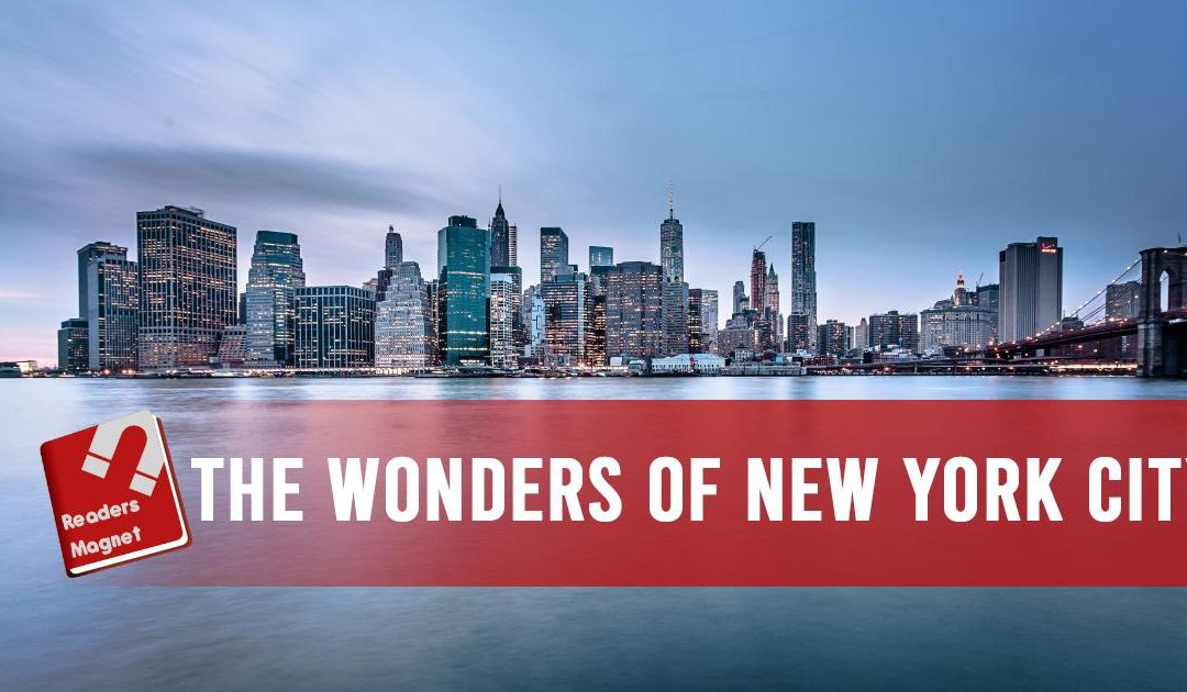 The Wonders Of New York City banner