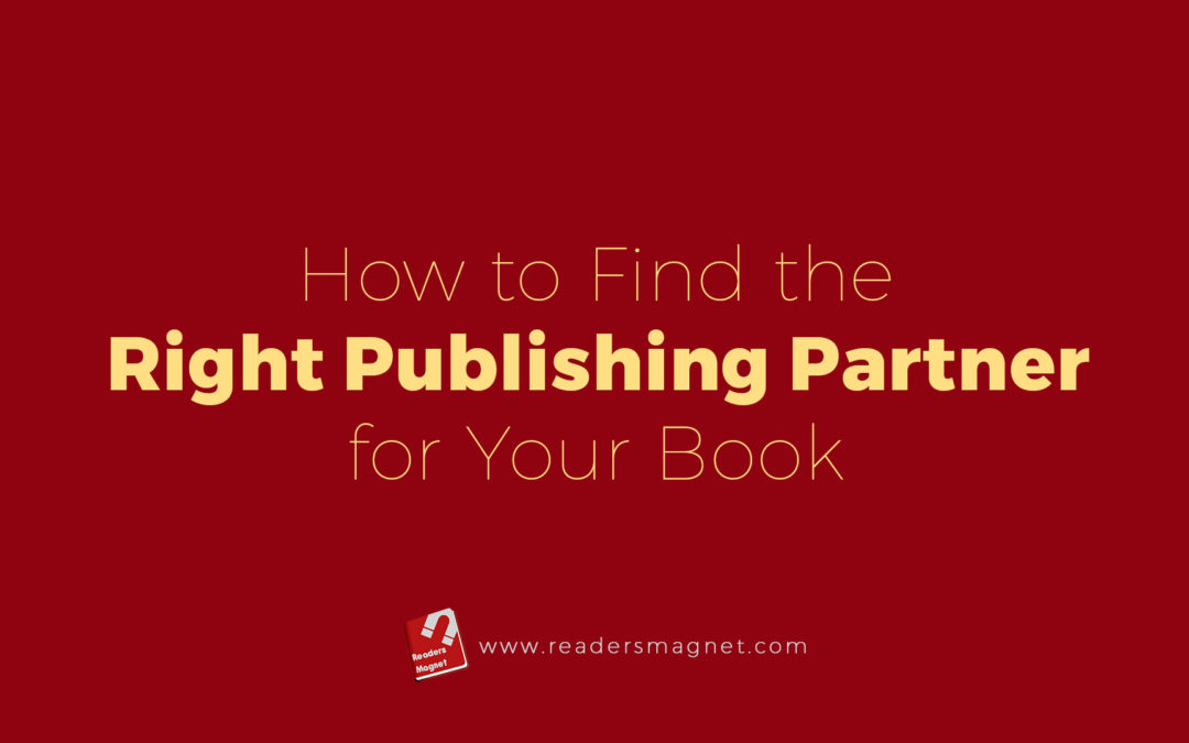 How To Find The Right Publishing Partner For Your Book banner