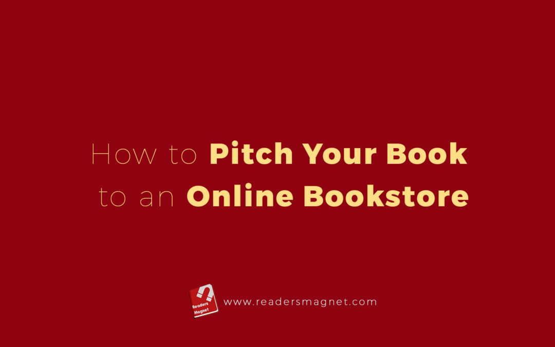 How To Pitch Your Book To An Online Bookstore banner