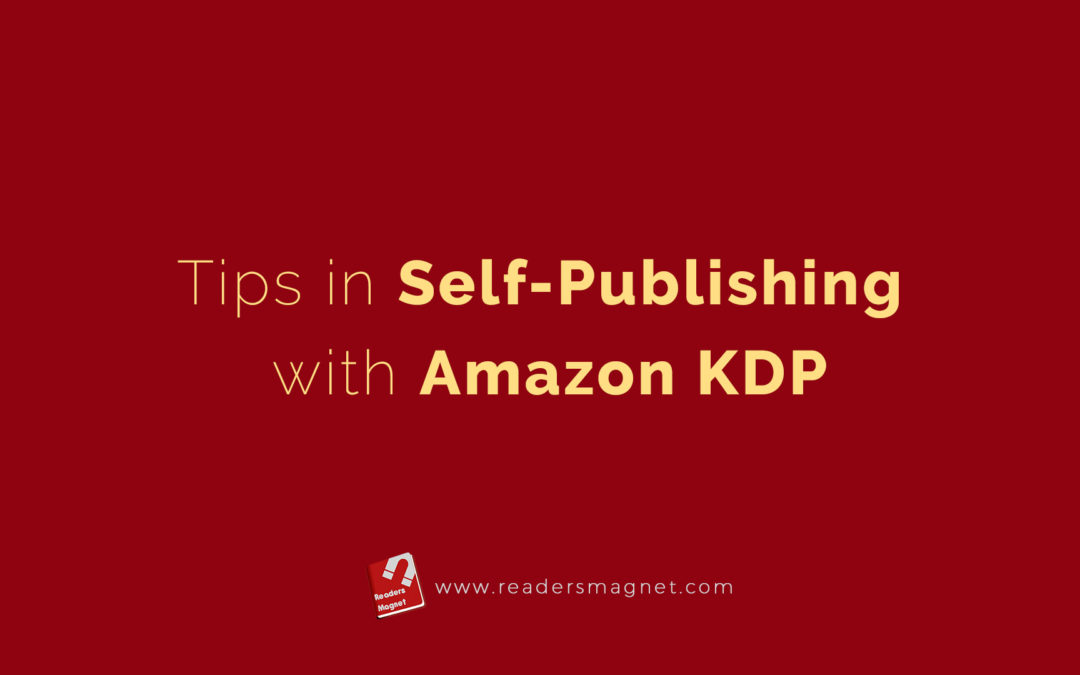 Tips In Self Publishing With Amazon bannerKdp