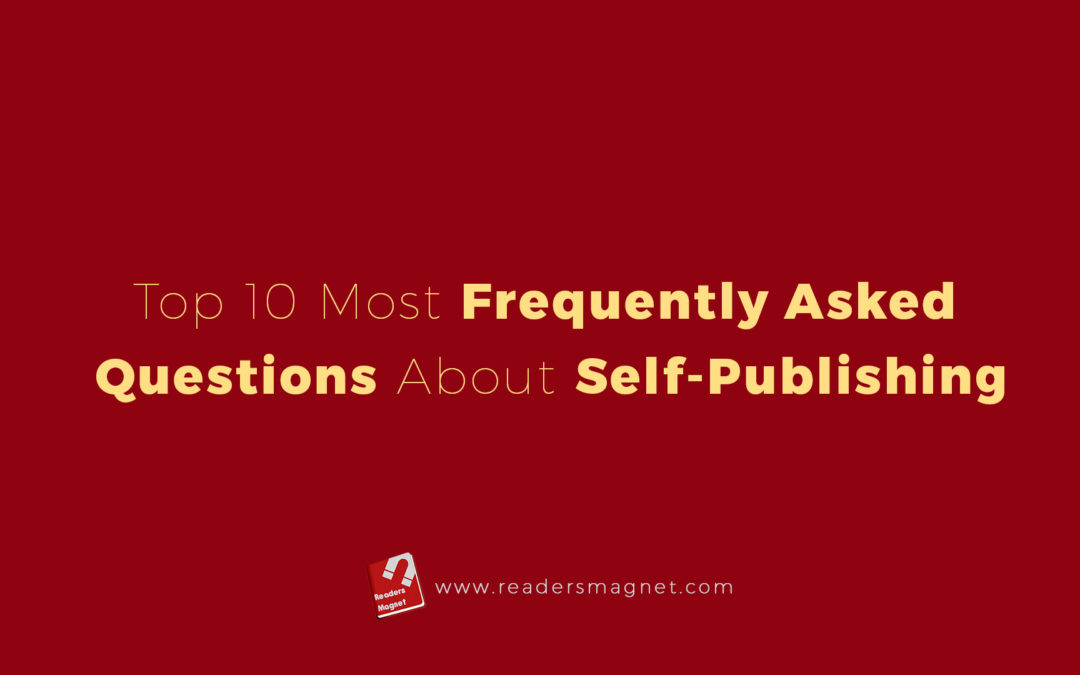 Top 10 Most Frequently Asked Questions About Self Publishing banner