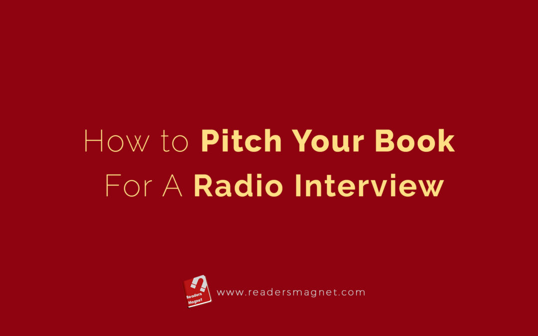 How to Pitch Your Book for a Radio Interview