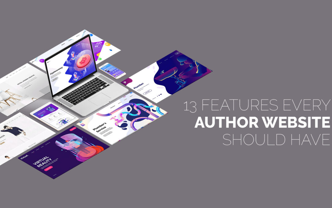 13 Features Every Author Website Should Have