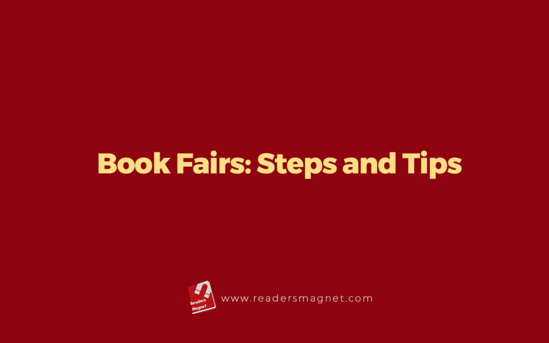 Joining Book Fairs: Steps and Tips