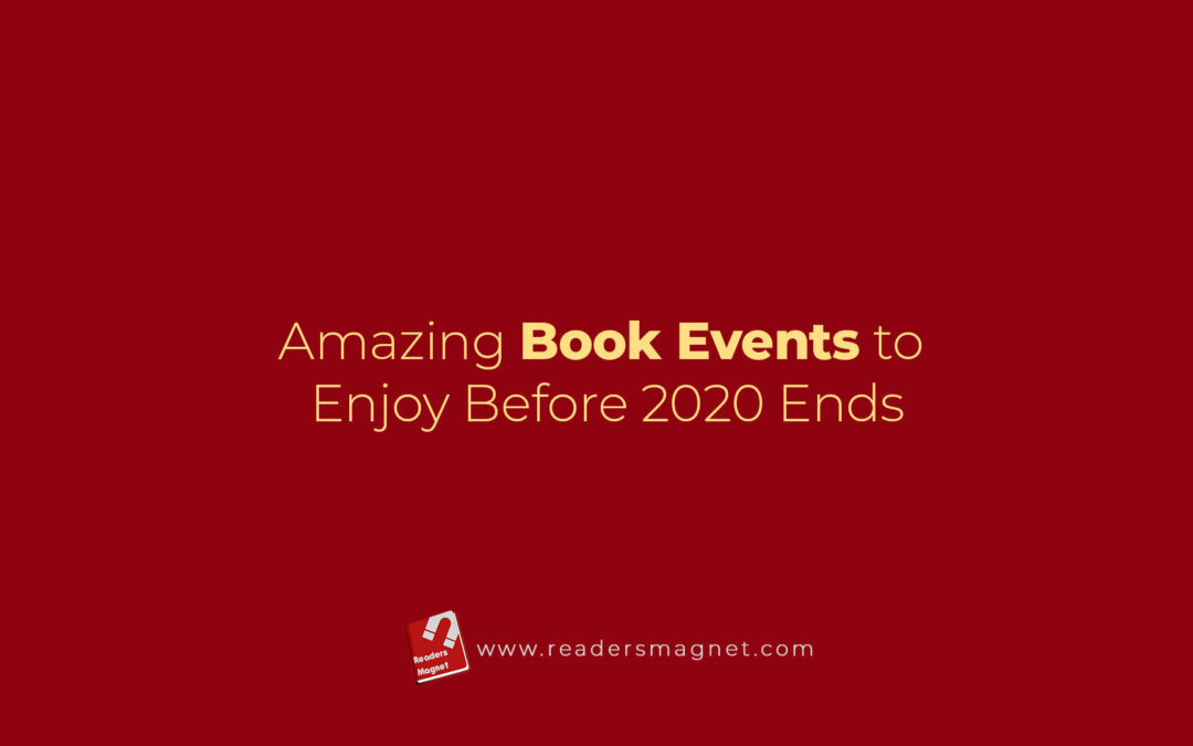 Amazing Book Events To Enjoy Before 2020 Ends