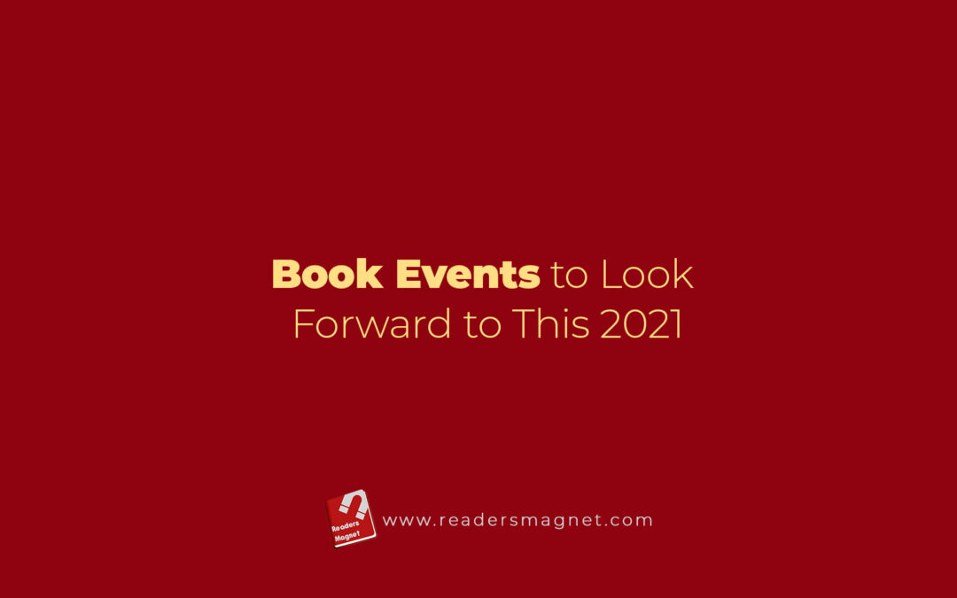 Book Events to Look Forward to This 2021