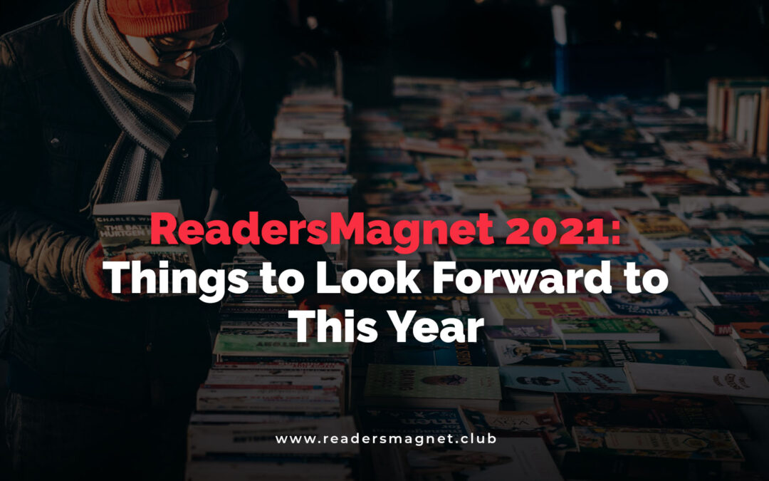 Readersmagnet 2021 Things To Look Forward To This Year banner