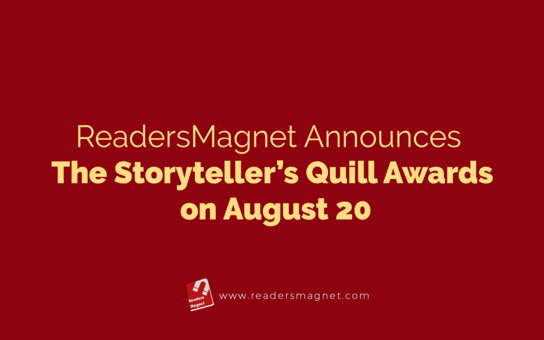Readersmagnet Announces The Storytellers Quill Awards On August 20