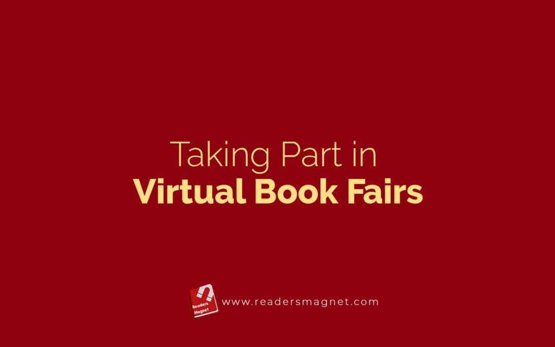 Taking Part in Virtual Book Fairs